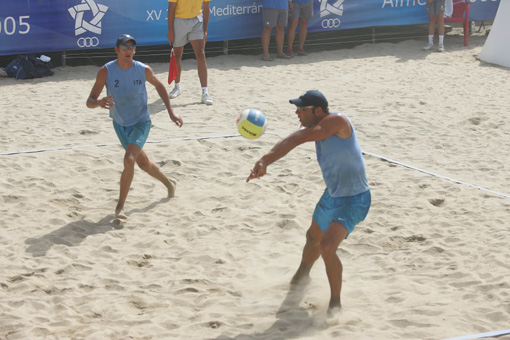 Beach Volley: Lione Varnier